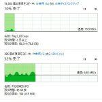 2T USB メモリーの転送試験(評価)