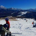 ▶車山高原スキー場で滑ってきました。