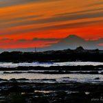 ▶夕焼け富士山 また違った富士山の景色がみられる 斉藤大果の世界