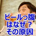 【 健康情報: ビールを飲むとお腹が出る ビール腹の原因】ビールは美味しい。 特に暑い夏に仕事終わりに飲むビールは格別です。 しかしビールを飲むとお腹が出るそれはなぜ?